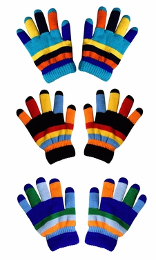 Children�s Toddler Warm Winter Gloves and Mittens Value packs (Rainbow 3 Toddlers(2 to 4 years)