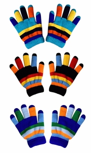 Rainbow 3 Toddler Warm Winter Gloves and Mittens Value packs (2 to 4 years)