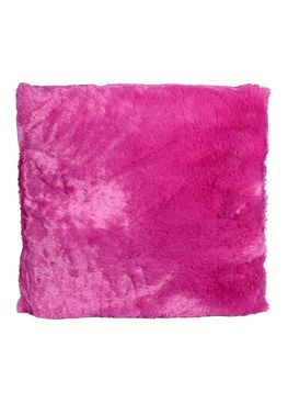 Couture Home Collection D�cor Fuzzy Super Soft Cozy Pillow Magenta