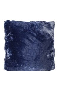 Couture Home Collection D�cor Fuzzy Super Soft Cozy Pillow Navy