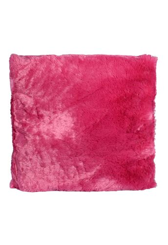Couture Home Collection D�cor Fuzzy Super Soft Cozy Pillow Pink