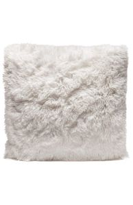 Couture Home Collection D�cor Fuzzy Super Soft Cozy Pillow White