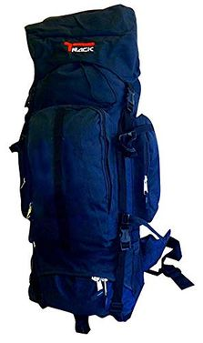 Dark Blue X-Large Outdoor Hiking Camping Vacation Travel Luggage Backpack