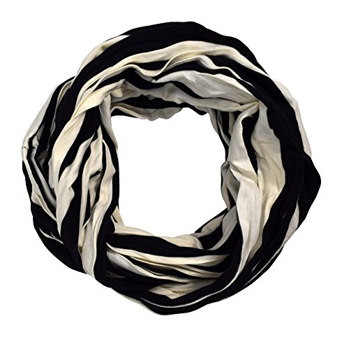 Light Weight Two Color Infinity Circle Loop Scarf Long Scarf