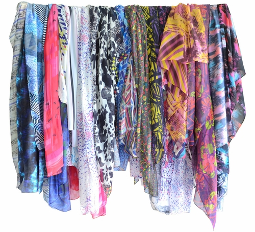 Classic Vintage inspired multi purpose Pashmina Scarf for Free