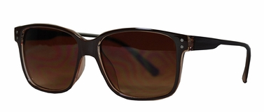Brown Retro Two-Toned Sunglasses
