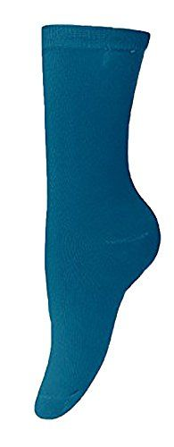 Ladies Vibrant Solid 3 Pair Stretch Variety Socks (4-10 Shoe Size)
