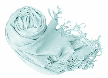 Baby Blue Eco-friendly Pashmina Shawl