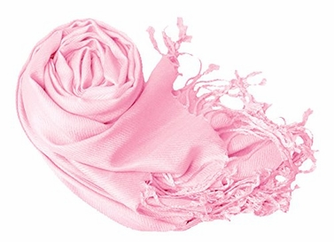 Baby Pink Eco-friendly Pashmina Shawl