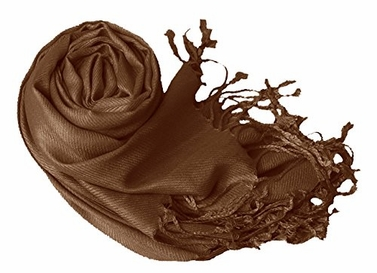 Chocolate Brown Eco-friendly Pashmina Shawl