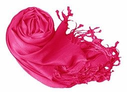 Fuchsia Eco-friendly Pashmina Shawl