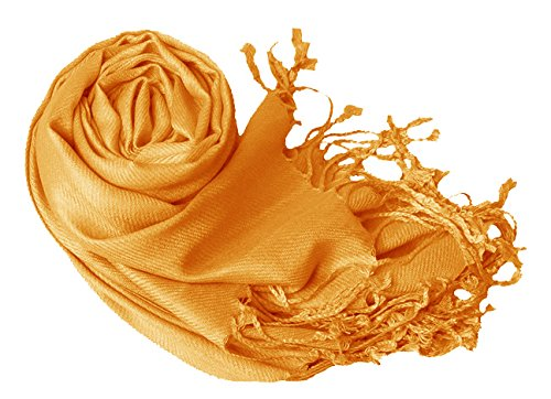 Gold Eco-friendly Pashmina Shawl