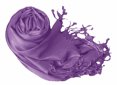 Luxurious Eco-friendly Pashmina Shawl (Lavender)