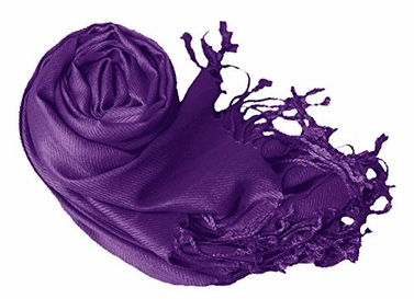 Purple Eco-friendly Pashmina Shawl
