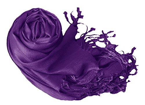 Luxurious Eco-friendly Pashmina Shawl (Purple)