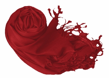 Red Eco-friendly Pashmina Shawl