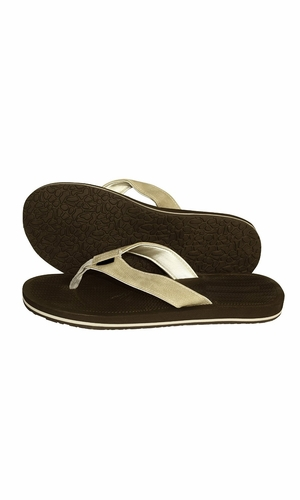 Dark Brown Tan Men's Flip Flop Synthetic Suede Stappy Beach Flats Sandals