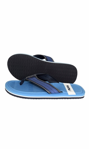 Nautical Summer Men's Beach Summer Flip-Flops Sandals Slippers Turquoise