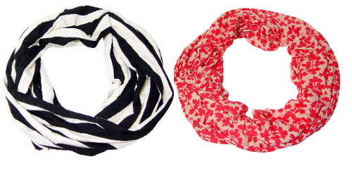 Spring Infinity Scarves 2013