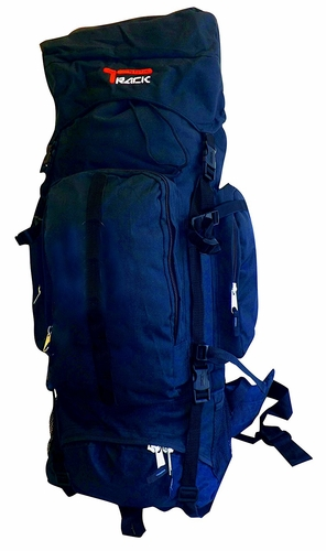 X Large Outdoor Hiking Camping Vacation Travel Luggage Backpack (Navy)
