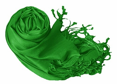 Green Eco-friendly Pashmina Shawl