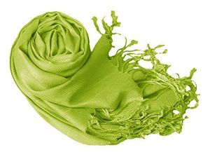 Kelly Green Eco-friendly Pashmina Shawl