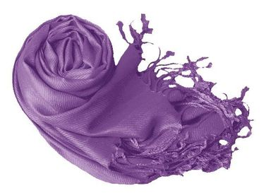 Lavender Wedding Pashmina Shawl Wrap Scarf