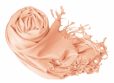 Luxurious Eco-friendly Pashmina Shawl (Peach Puff)