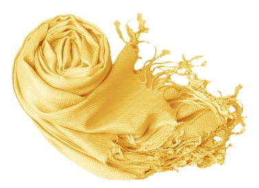 Yellow Eco-friendly Pashmina Shawl