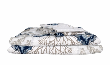 Sea world 400 Thread Count Printed Seaworld Queen Sheet Set