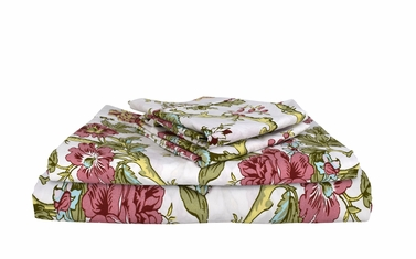 Magic Forest 400 Thread Count Printed Magic Forest Queen Sheet Set