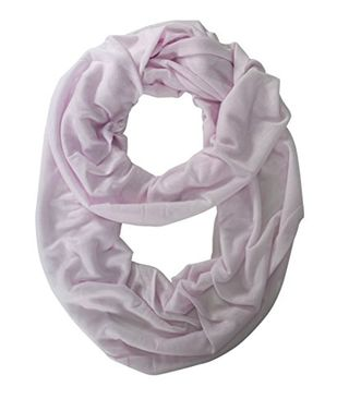 Jersey Woven Cotton Infinity Loop Scarf