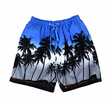 Beach Board Shorts Water Sports Swimming Surfing Shorts Trunks X-Large