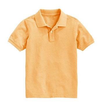 Boys Short Sleeve Classic Pique Polo Shirt