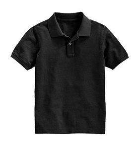 Boys Short Sleeve Classic Pique Polo Shirt, Ages 5-14 Years (Small)