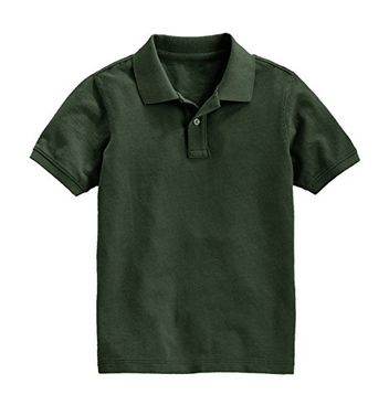 Boys Short Sleeve Classic Pique Polo Shirt XX-Large