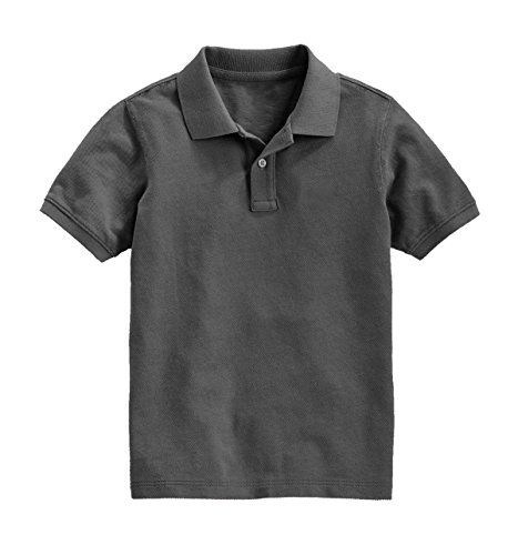Boys Short Sleeve Pique Polo Classic Shirt