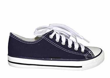 Navy Casual Sneakers Low top Tennis Shoes B(M) US