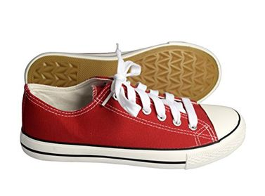 Red  Casual Sneakers Low Top Tennis Shoes (6)