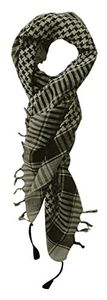 100% Cotton Soft Unisex Shemagh Keffiyeh Scarf