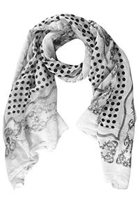 Cotton Blend Polka Dot Print Summer Shawls Scarf