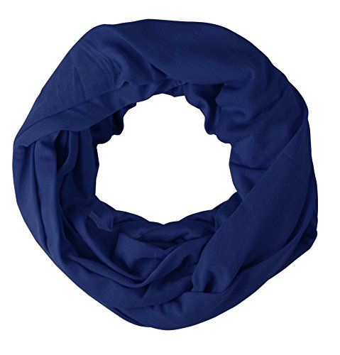 Soft Touch Vivid Colors Infinity Loop Scarf Scarves Jersey Knit