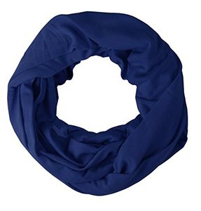Peach Couture Cotton Soft Touch Vivid Colors Infinity Loop Scarf Scarves Jersey Knit