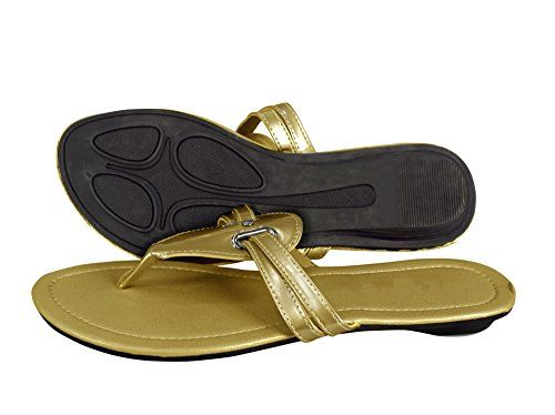 Gold Casual Office Work Formal Breathable Summer Strappy Sandals