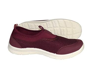 Easy Slip On No Lace Women's Sport Shoes Running Lightweight Sneaker