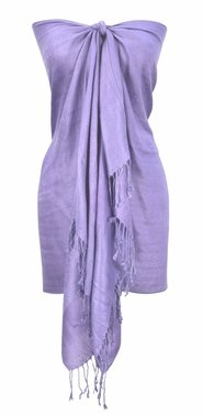 Elegant Vintage Jacquard Paisley Shawl Wrap (Berry Light/Purple)