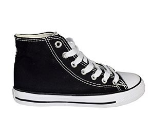 Black High Top Casual Sneakers Shoes US