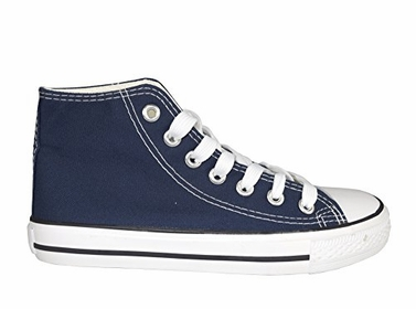 Navy High Top Casual Sneakers Shoes US