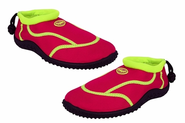 Peach Couture Kids Toddler Girls Athletic Water Shoes Pool Beach Aqua Socks Fuchsia