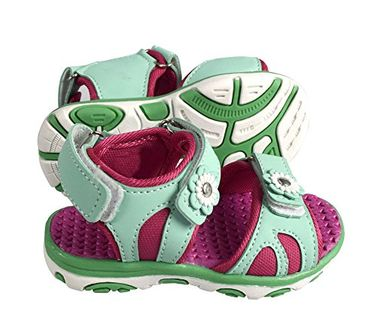 Peach Couture Kids Toddler Open Toe Beach Water Shoes Athletic Sports Sandals Mint